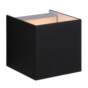Lucide Cubo Wall Light - Black