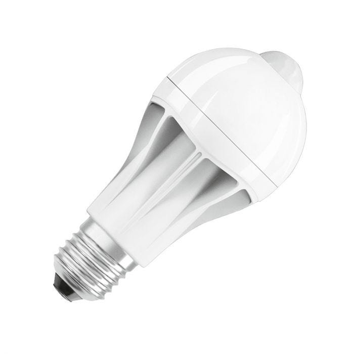 Osram 11 5w Warm White Led Gls Bulb With Pir Sensor Screw Cap Lighting Direct