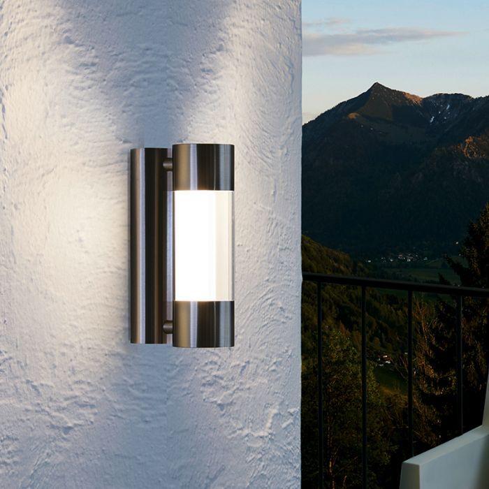 Eglo Robledo Led Outdoor Wall Light, Eglo Lamp Outdoor