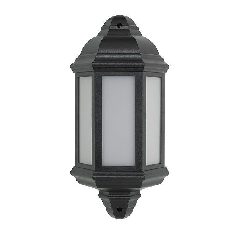 Led Half Lantern Outdoor Wall Light, Outdoor Wall Downlights Led