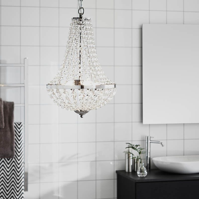 Details about AMAZING CHANDELIER WITH REAL LEAD CRYSTALS MATCHING WALL LIGHTS IN STOCK.