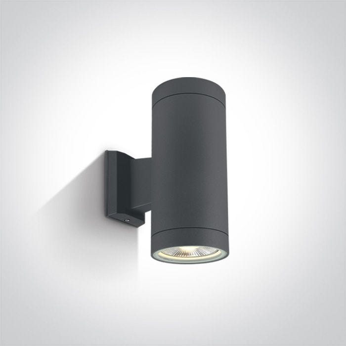Cylinder Large Outdoor Up Down Wall, Outdoor Cylinder Light