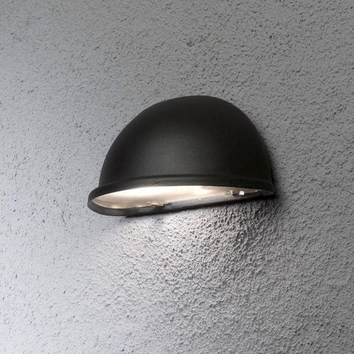 Konstsmide Torino Outdoor Wall Washer Light Black Lighting Direct