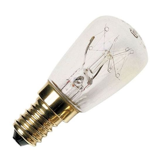 25W Clear Pygmy Microwave Bulb - S.Screw