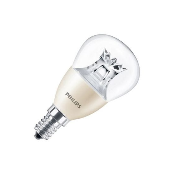 Philips 4W Warm White DimTone LED Golf Ball Bulb - Small Screw Cap