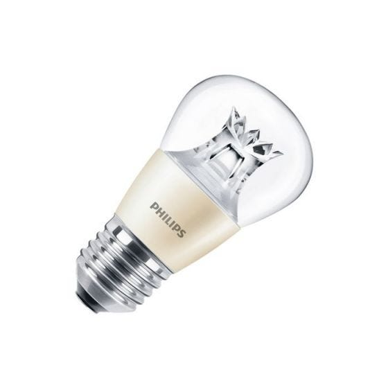 Philips 4W Warm White DimTone LED Golf Ball Bulb - Screw Cap