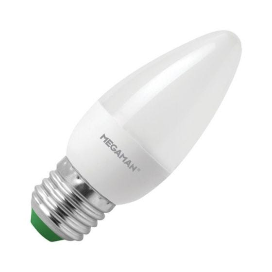 Megaman 3.5W Warm White LED Candle Bulb - Screw Cap