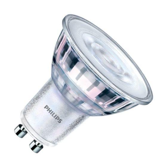 Philips CorePro LEDSpot 4.4W Warm White Dimmable LED GU10 Bulb - Medium Beam