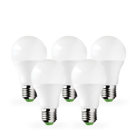 Lyco 10W Warm White LED GLS Bulb - Screw Cap - Pack of 5