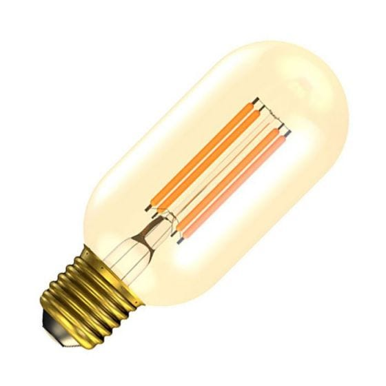 Bell Vintage 4W Very Warm White Dimmable LED Decorative Filament Tubular Bulb - Screw Cap