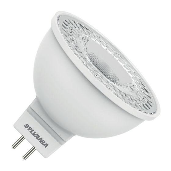 Sylvania 4.8W Daylight LED MR16 Bulb