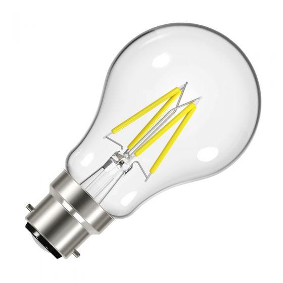 Value 4.5W Warm White Dimmable LED Decorative Filament GLS Bulb - Bayonet Cap
