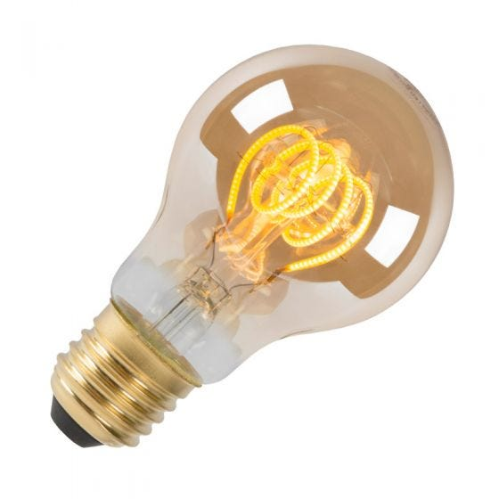 5W Very Warm White Dimmable LED Decorative Filament GLS Bulb - Screw Cap