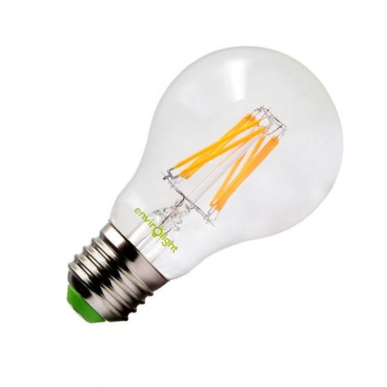 Envirolight 8W Warm White Dimmable LED GLS Bulb - Screw Cap