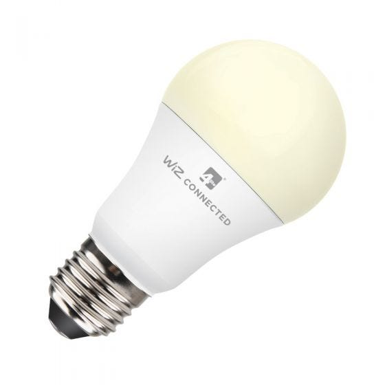 WiZ 9W Warm White Dimmable LED Smart WiFi GLS Bulb - Screw Cap