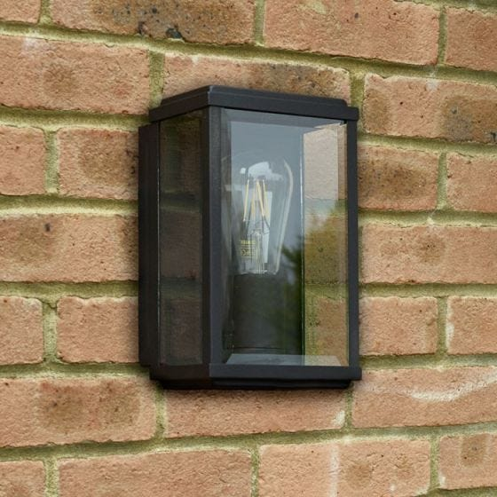Searchlight Swinford Porch Lantern - Black