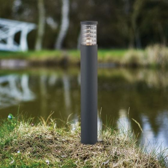 Tronco Tall Outdoor Post Light - Black