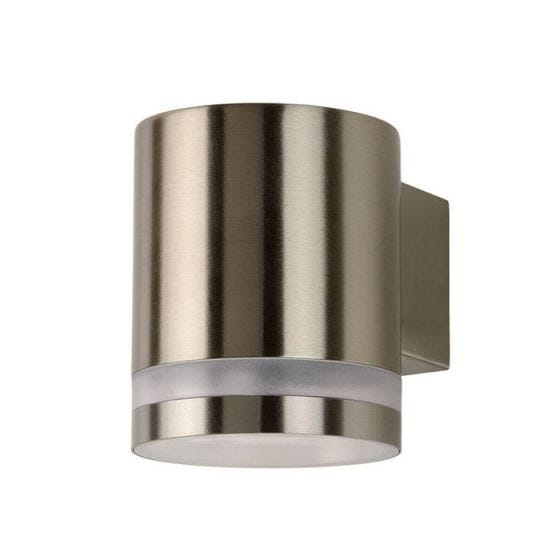 Lucide Basco Outdoor Wall Light - Chrome