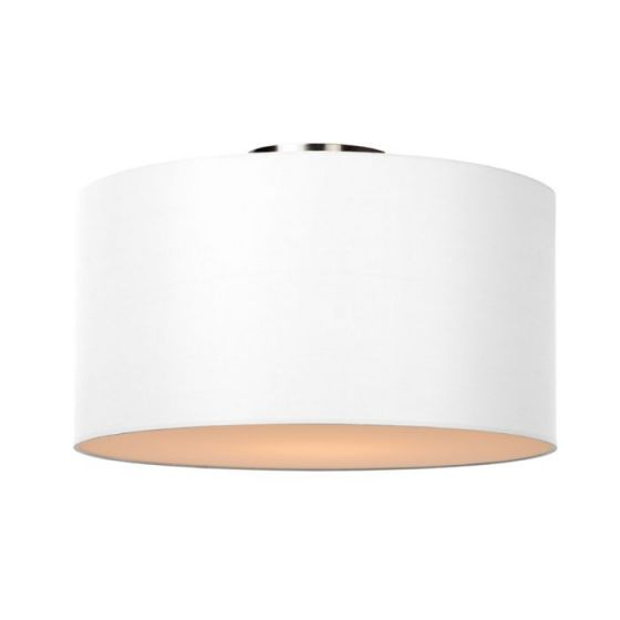 Lucide Coral Large Flush Ceiling Light - White
