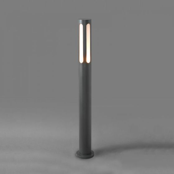 Edit Mekong Outdoor Post Light - Dark Graphite