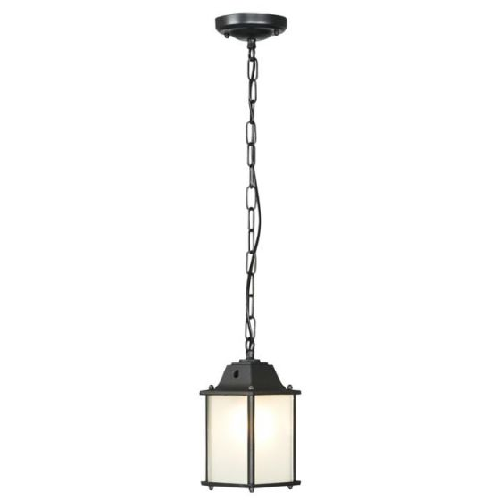 Edit Spey Outdoor Pendant Porch Lantern - Black