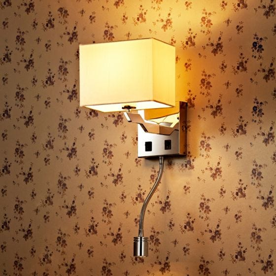Edit Origin Wall Light with LED Reading Light