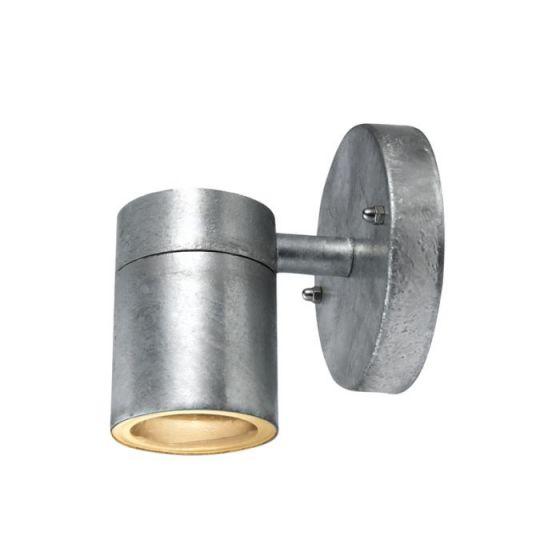 Dan Outdoor Wall Light - Galvanised Steel