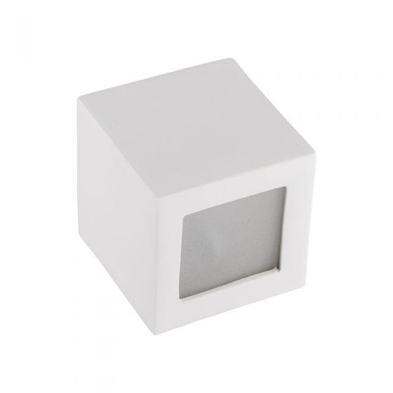 Edit Kiet Square Up & Down Wall Light - White