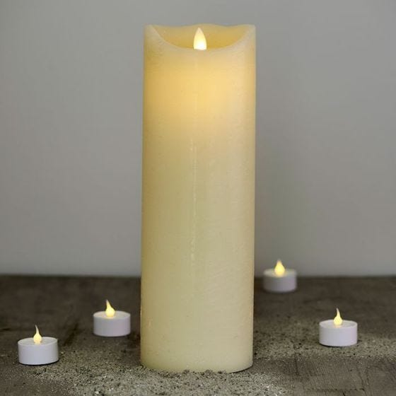 Sirius Sara Exclusive LED Almond Wax Candle - 300mm
