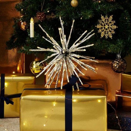Starburst Battery Operated LED Hanging Decoration