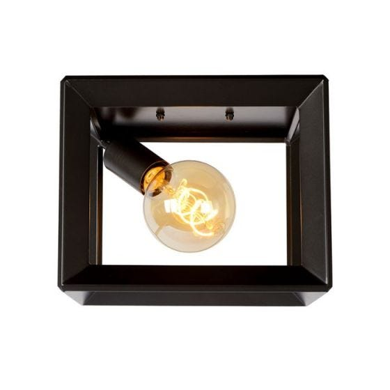 Lucide Thor Flush Ceiling  Light - Iron