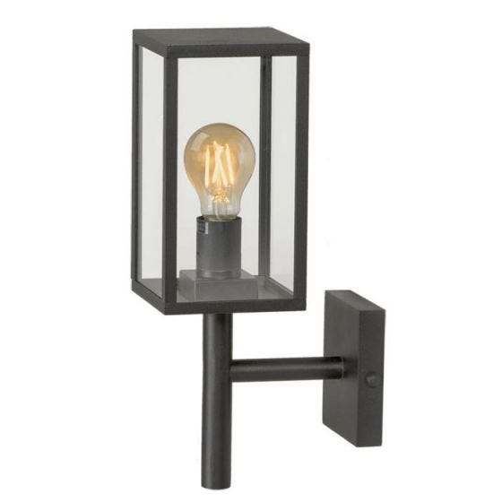 Techmar Plug and Play - Celata Outdoor LED  Wall Light - Black
