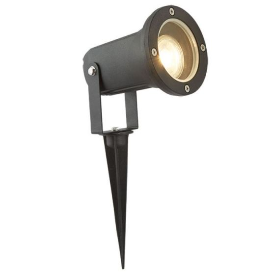Searchlight Whitney Garden Spotlight - Black