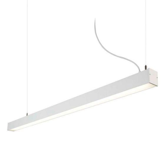 Edit Office LED Bar Ceiling Pendant Light - White