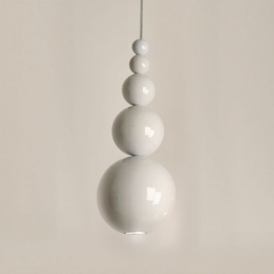 Bubble Ceiling Pendant Light - White