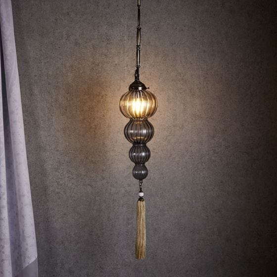 Edit Imperial Ceiling Pendant Light - Smoked Glass