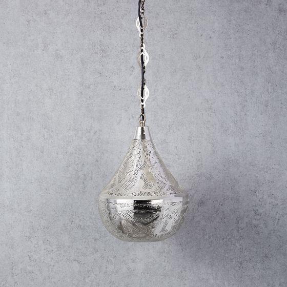Edit Souk Ceiling Pendant Light - Silver