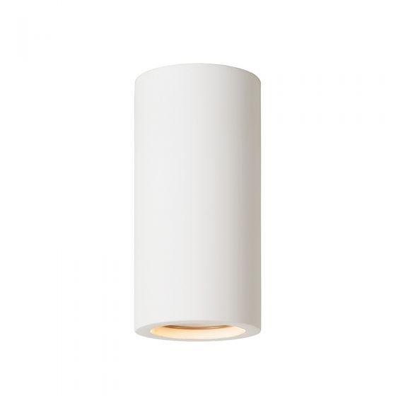 Lucide Gipsy Plaster Ceiling Spotlight - White
