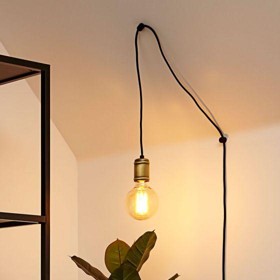 Edit Qualle Lamp Holder - Brass