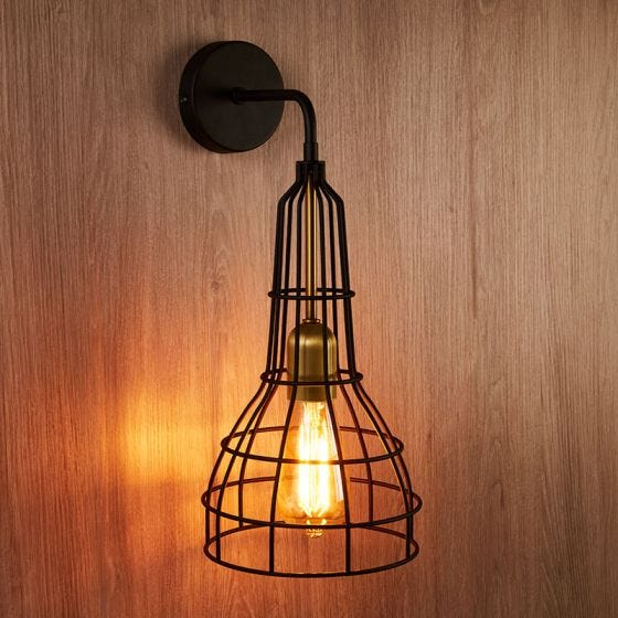 Edit Cage Wall Light