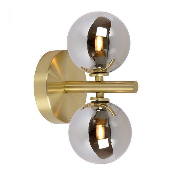 Lucide Tycho Wall Light - Satin Brass