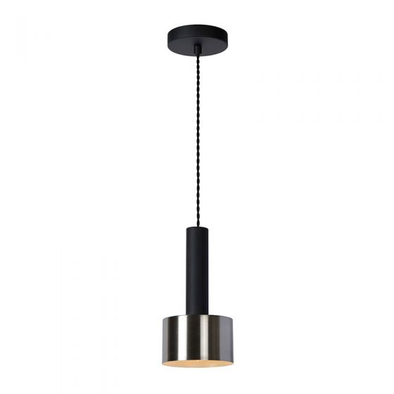 Lucide Teun Ceiling Pendant Light - Stainless Steel