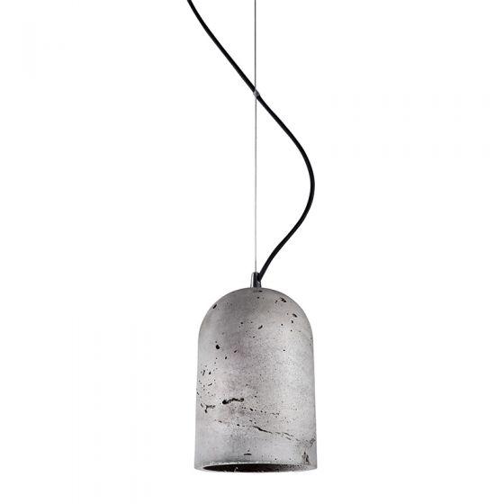 Edit Large Lava Ceiling Pendant Light - Concrete