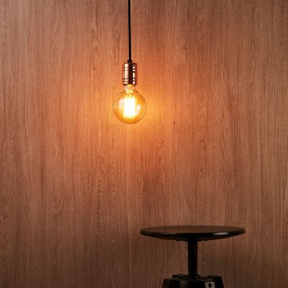 Edit Cable Ceiling Pendant Light - Black and Copper