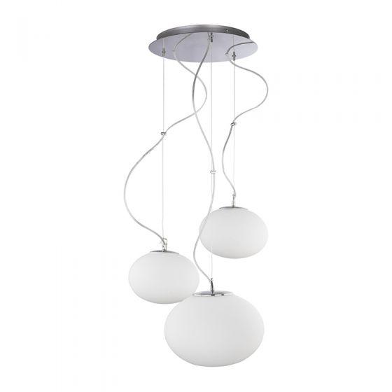 Edit Nuage 3 Light Cascade Ceiling Pendant - White