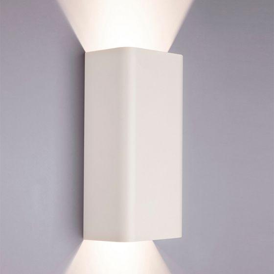 Edit Bergen Up & Down Wall Light - White