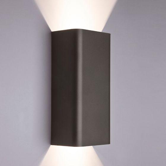 Edit Bergen Up & Down Wall Light - Graphite