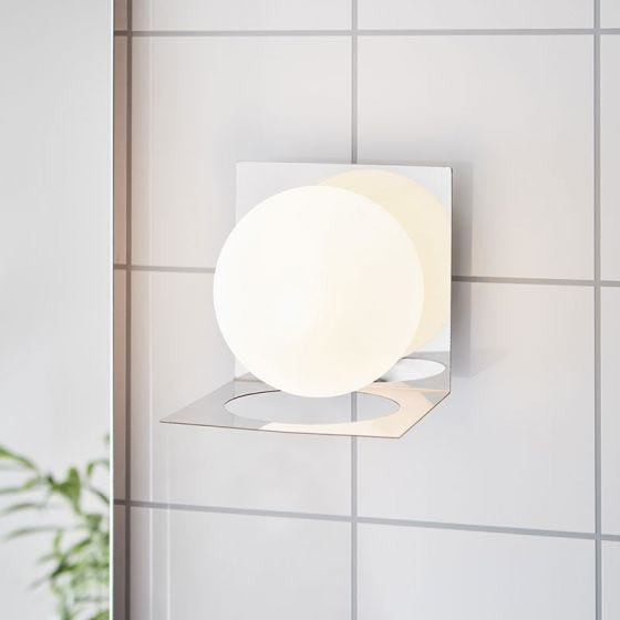 Zenit Wall Light - Chrome