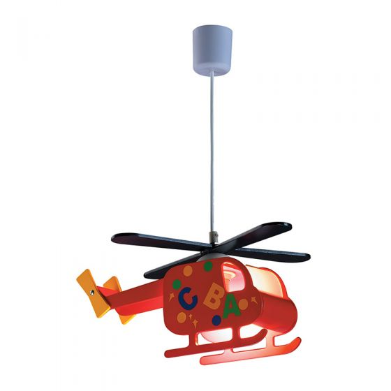 Edit Helicopter Ceiling Pendant Light