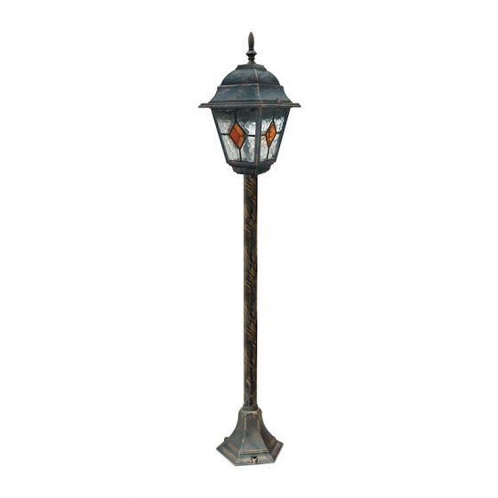 Edit Carlo Outdoor Post Light - Antique Gold
